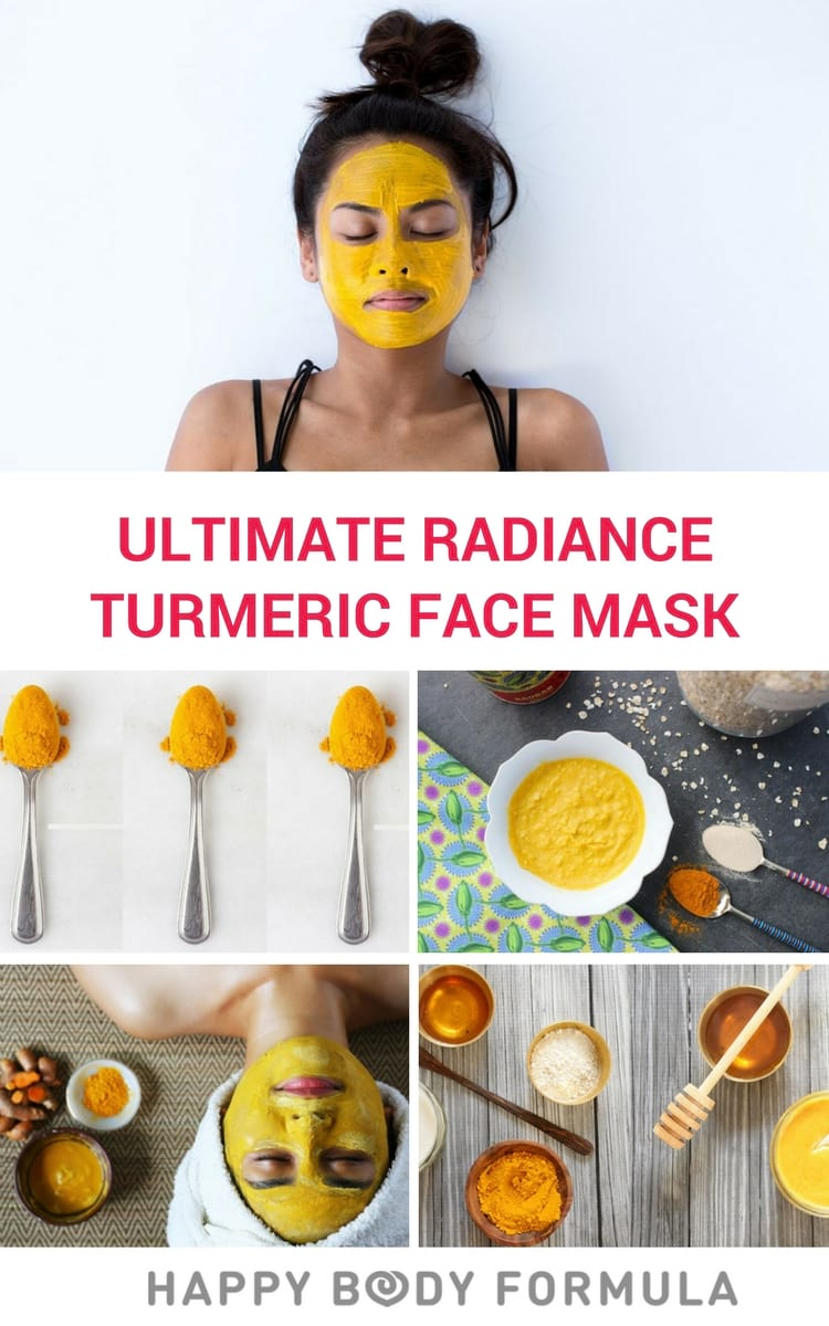 Ultimate Radiance DIY Turmeric Face Mask For Anti-Ageing & Acne