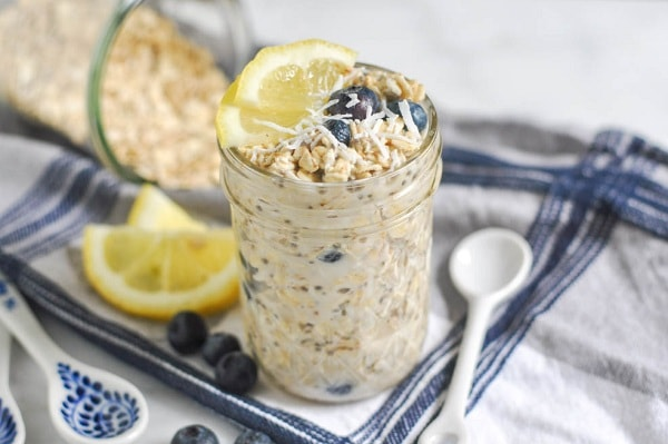 Make overnight oats for a quick and easy breakfast