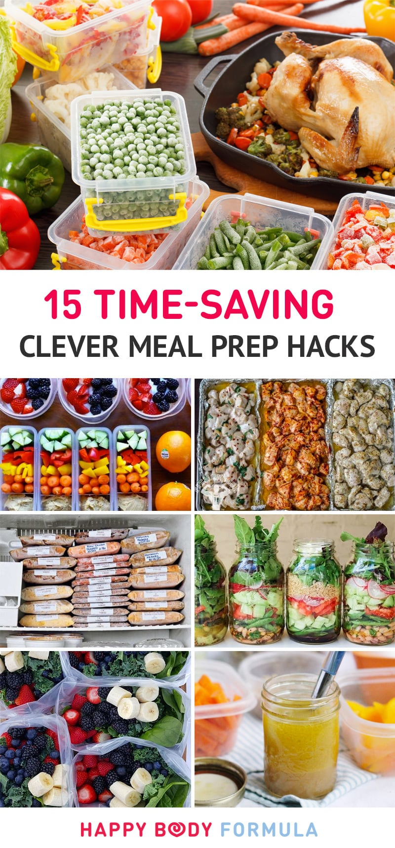 10 Genius Meal Prep Hacks That Will Change The Way You Cook