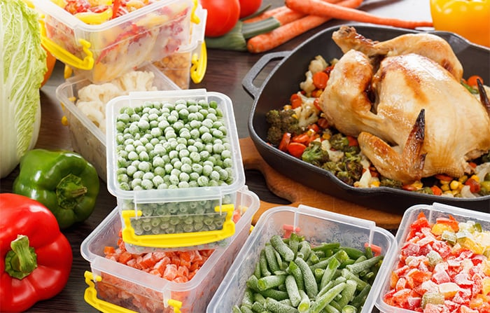 Genius & clever time-saving meal prep hacks