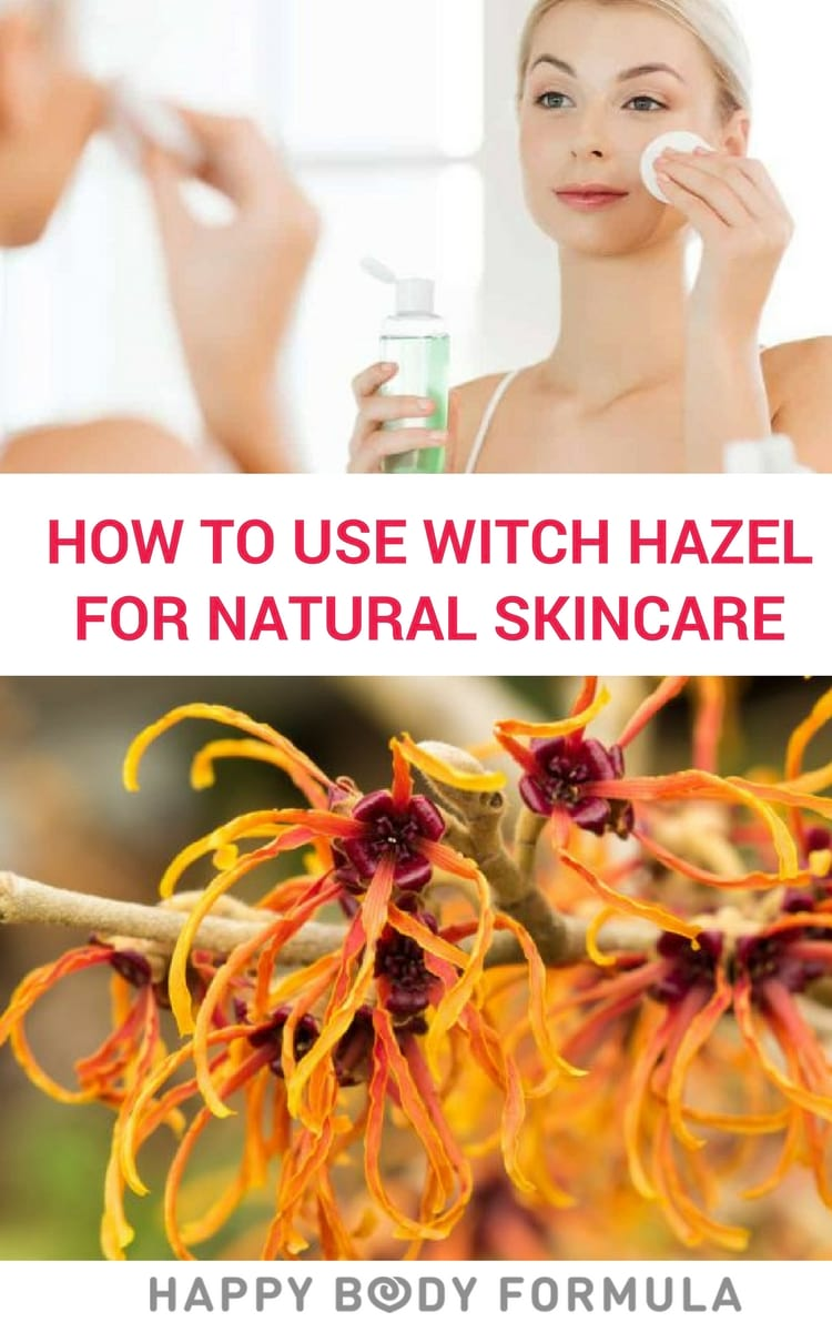 10+ Ways to Use Witch Hazel For Natural Skincare & Healing - Acne, Scars, Skin Irritation & More