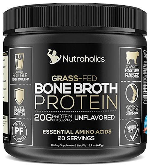 Nutraholics Bone Broth Protein Powder