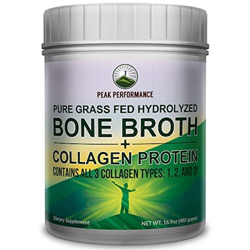 Peak Performance Hydrolyzed Bone Broth Protein