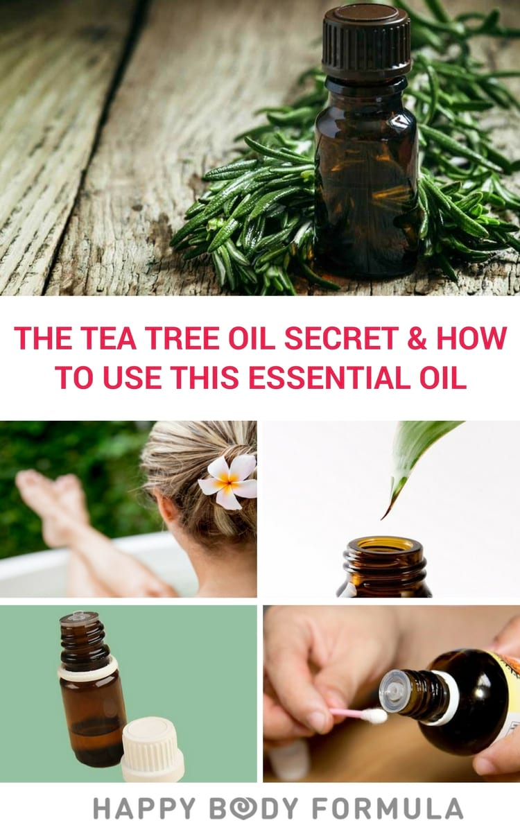 The Amazing Benefits of Tea Tree Oil & How to Use This Essential Oil