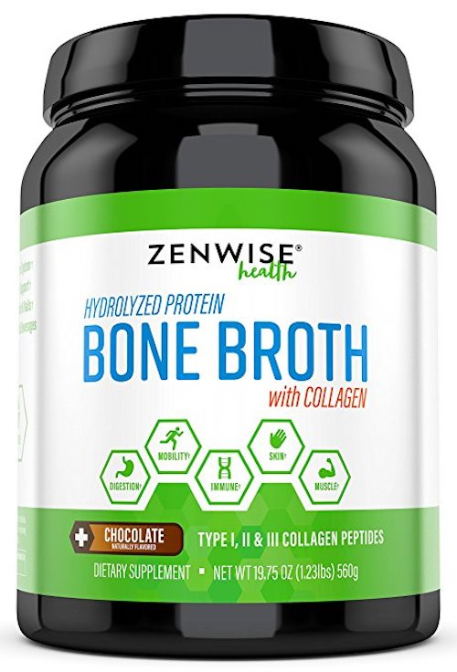Zenwise Health Hydrolyzed Bone Broth Protein Powder