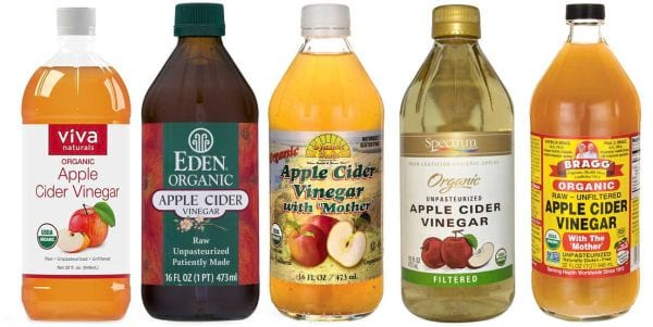 buying apple cider vinegar