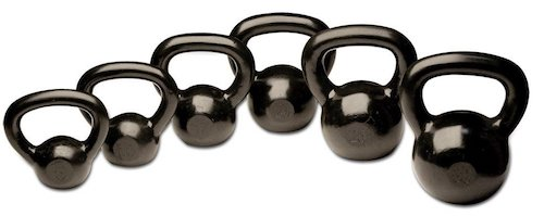 Body Solid KBS105 5 to 30-Pound Kettle Bell Set