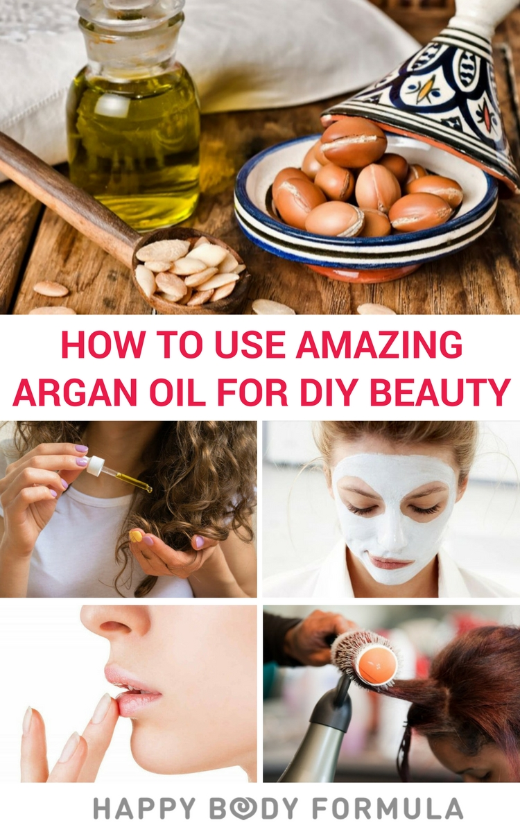 Argan Oil Benefits: How to Use Amazing Argan Oil for Healthy Hair | Happybodyformula.com