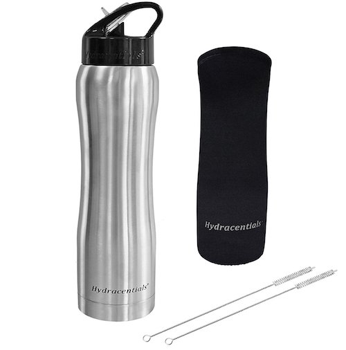 Hydracentials Stainless Steel Vacuum Insulated Water Bottle
