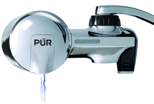 PUR Chrome Horizontal Water Filtration Faucet