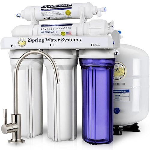 iSpring Reverse Osmosis Drinking Water Filtration System