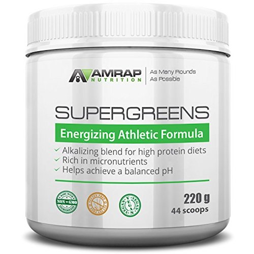 AMRAP Nutrition Supergreens Powder