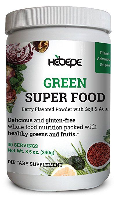 Hebepe Green Super Food Powder