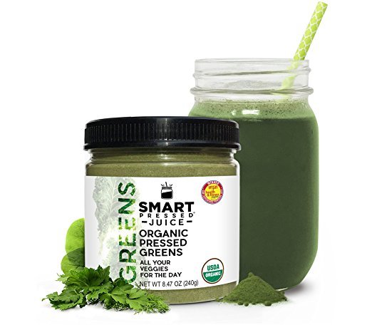 Smart Pressed Organic Greens Superfoods Juice Powder