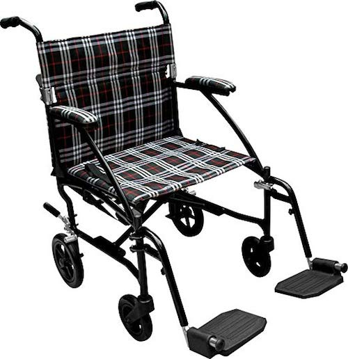Drive Medical Fly Transport Wheelchair