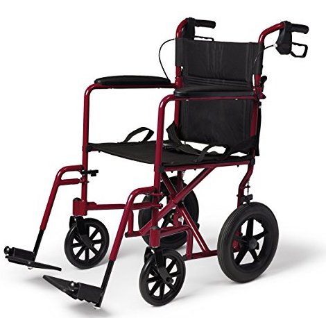 Medline Transport Folding Wheelchair