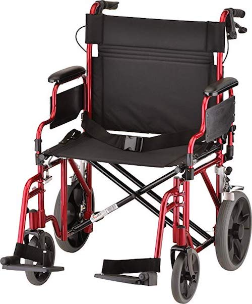 NOVA Medical Products Transport Wheelchair