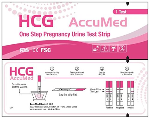 AccuMed Pregnancy Test Strips