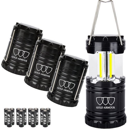 Gold Armour Brightest Camping Lantern