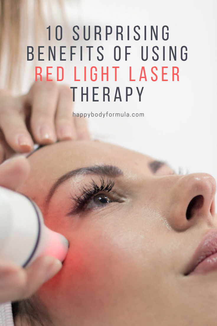 If you are curious about trying red light therapy for the first time, here are a few benefits that you should consider. | HappyBodyFormula.com