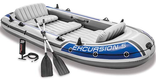 Top 10 Best Inflatable Boats Reviewed in 2019 - Happy Body