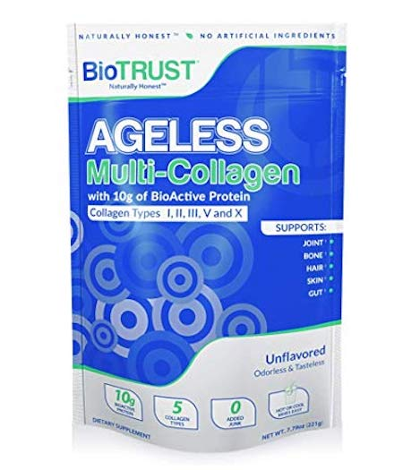 BioTrust Ageless Collagen Protein