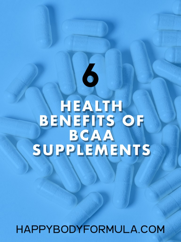 6 Health Benefits of BCAA Supplements | HappyBodyFormula.com
