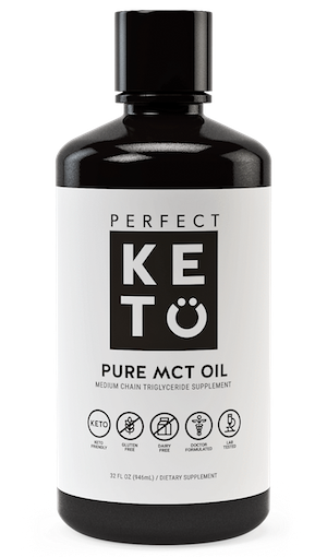 Perfect Keto C8 MCT Oil