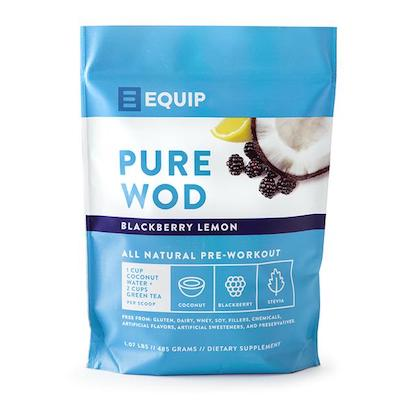 Equip Pure wood Pre-workout