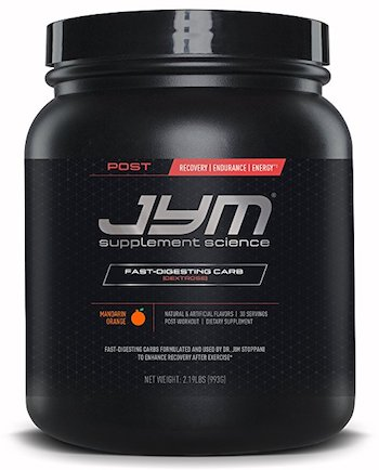 JYM Supplement Science post workout