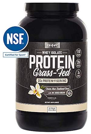 Onnit Grass-Fed Whey Isolate Protein