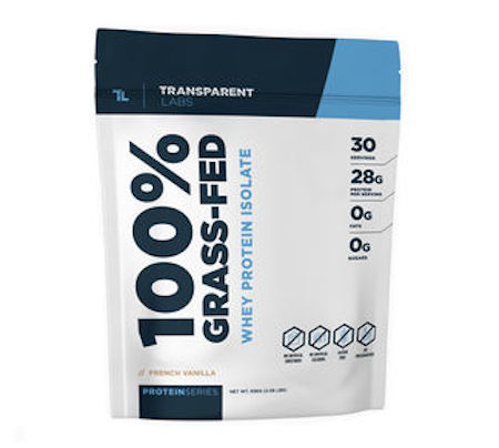 Transparent Labs Grass-Fed Whey Protein