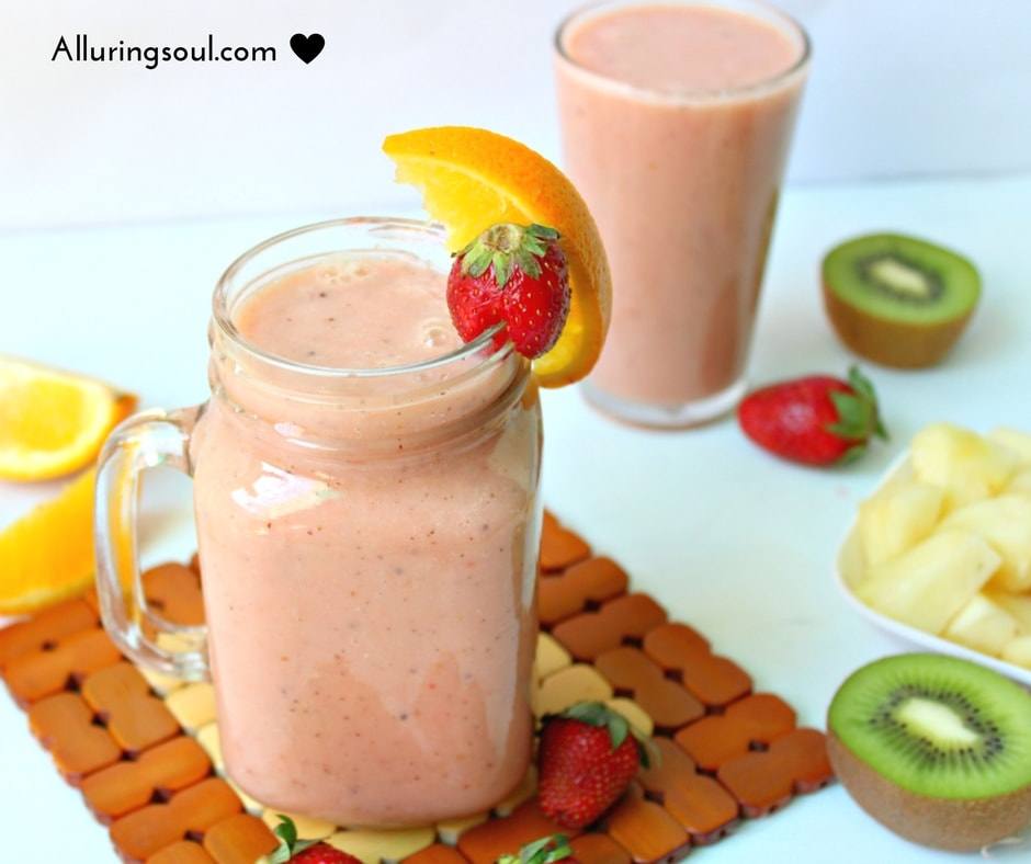FAT BURNER AND IMMUNE BOOSTER BREAKFAST SMOOTHIE