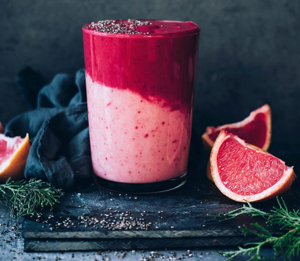 IMMUNE BOOSTING GRAPEFRUIT SMOOTHIE