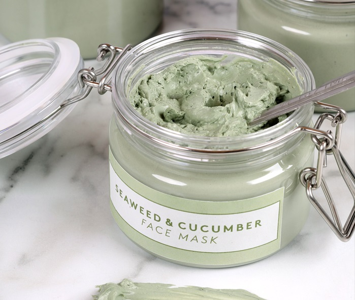 SEAWEED AND CUCUMBER FACE MASK