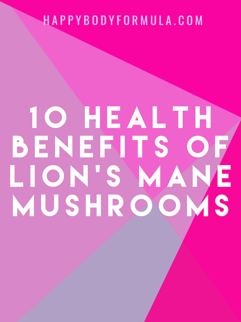 10 Health Benefits of Lion's Mane Mushrooms | HappyBodyFormula.com
