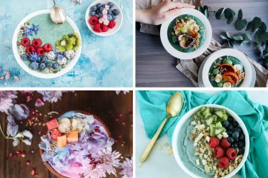 Smoothie Mermaid Bowls