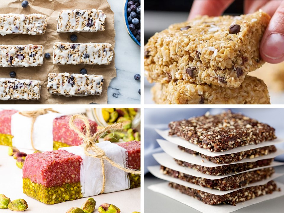 Homemade Energy Bar Recipes - Happy Body Formula