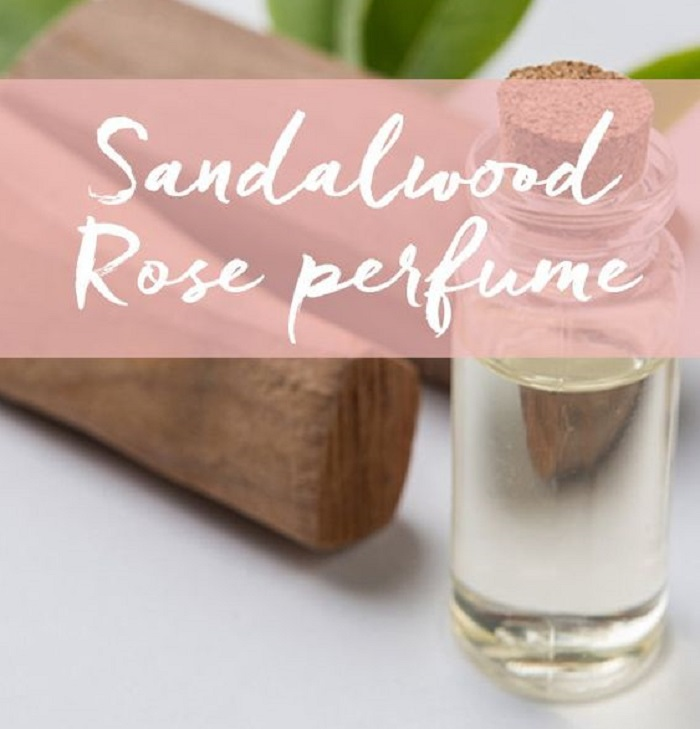 SANDALWOOD ROSE ESSENTIAL OIL PERFUME