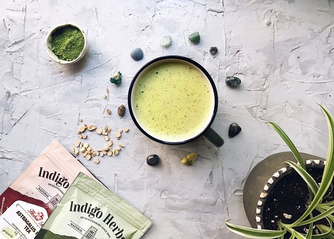 ADAPTOGENIC MATCHA LATTE RECIPE