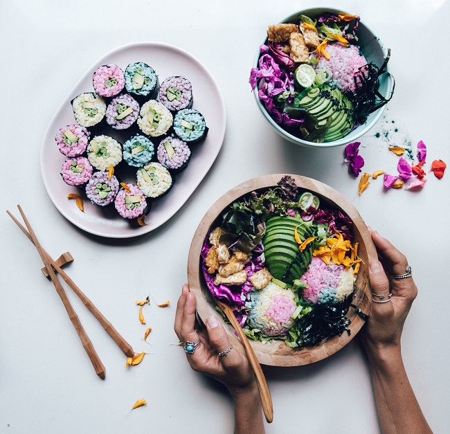 MERMAID SUSHI BOWLS