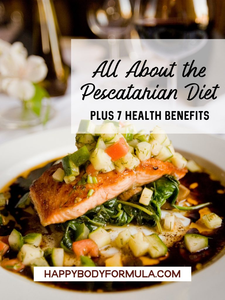 All About the Pescatarian Diet | HappyBodyFormula.com
