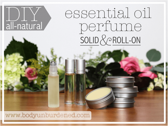 ALL-NATURAL ESSENTIAL OIL PERFUME
