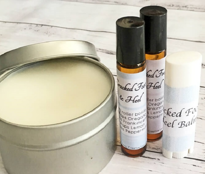 CRACKED FOOT AND HEEL BALM