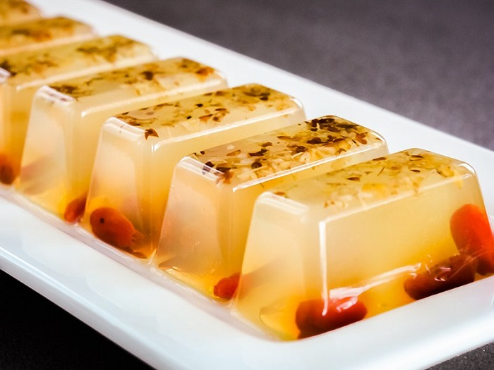 OSMANTHUS AND GOJI BERRY AGAR
