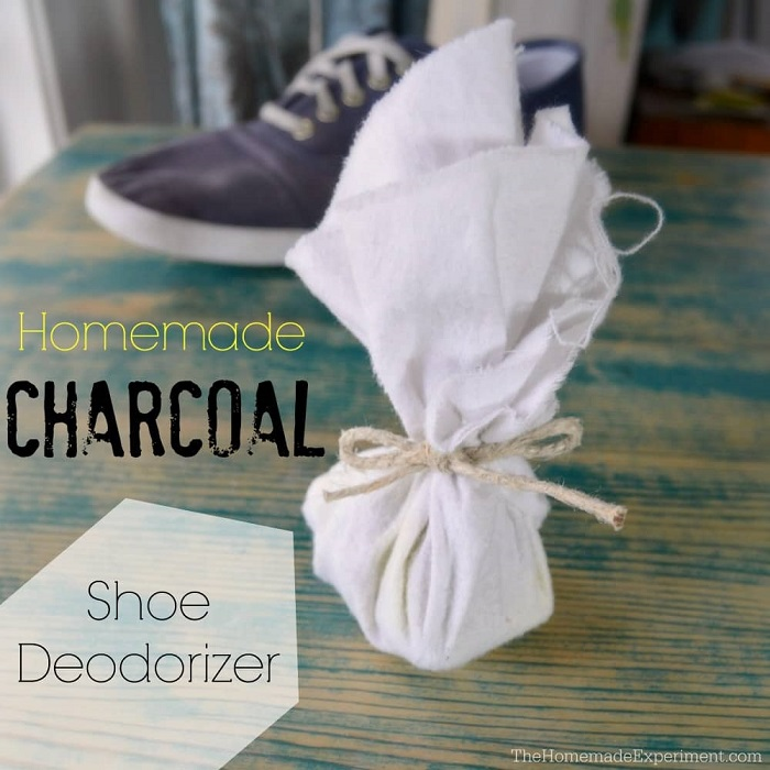 ACTIVATED CHARCOAL SHOE DEODORIZER