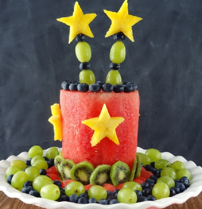 ALL FRUIT PARTY CAKE