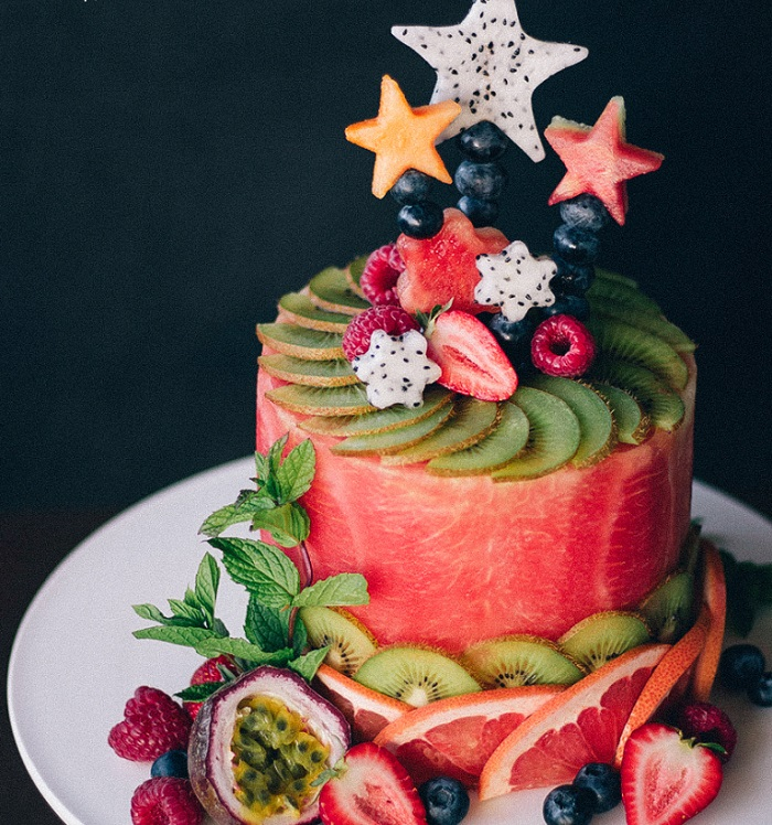 WATERMELON CELEBRATION CAKE