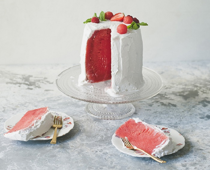 SUMMER WATERMELON CAKE