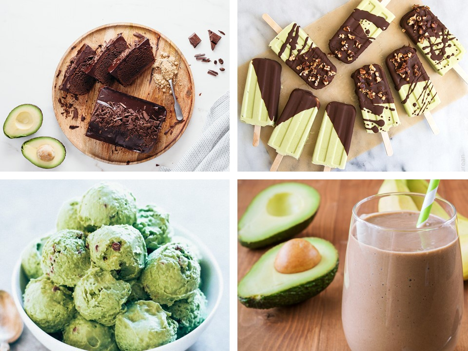 Chocolate Desserts with Avocado